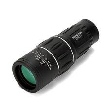 Wysokiej mocy HD monokularowy teleskop Sniper lornetki turystyka Spyglass ll noktowizor na Camping polowanie dziecko prezent 16X52 X394B