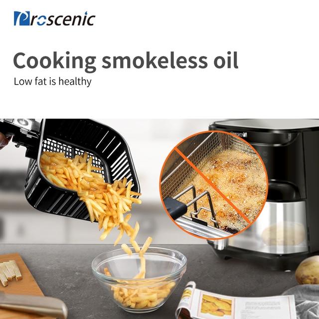 Proscénic T21 Smart 5.5L Friteuse sans huile connect 2