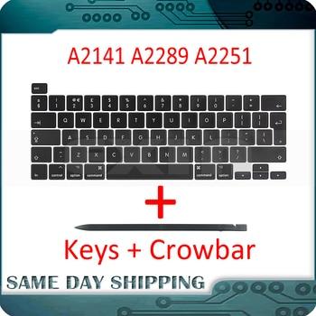 "Laptop A2141 A2289 A2251 Key Keycaps Keys Cap Keyboards Scissor Repair for Apple Macbook Pro Retina 13"" 15"" 2019 2020 Years 1"