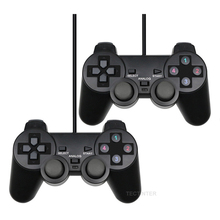 Wired USB PC Gamepad For WinXP/Win7/Win8/Win10 For PC Computer Laptop Black Game Controller