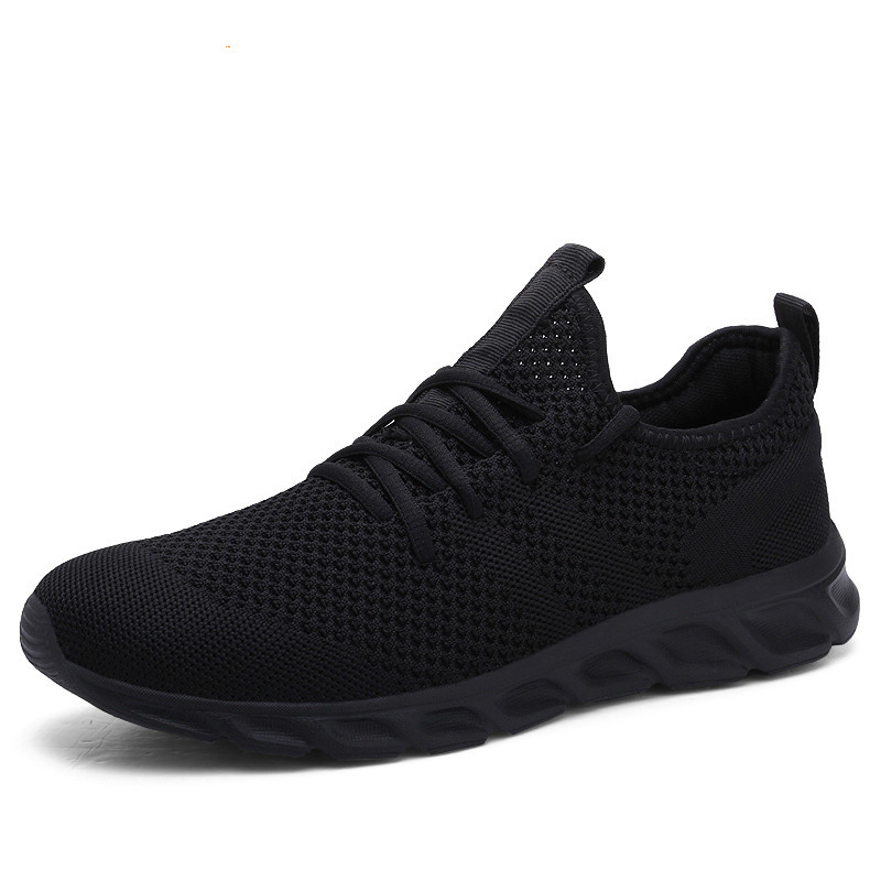 Hot Sale Light Man Running Shoes Comfortable Breathable Men's Sneaker Casual Antiskid And Wear-resistant Jogging Men Sport Shoes