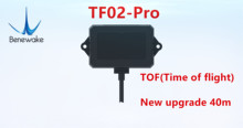 Benewake TF02 Pro TOF 40 メートルシングルポイント測距 lidar インテリジェント輸送材料レベル検出と UAV