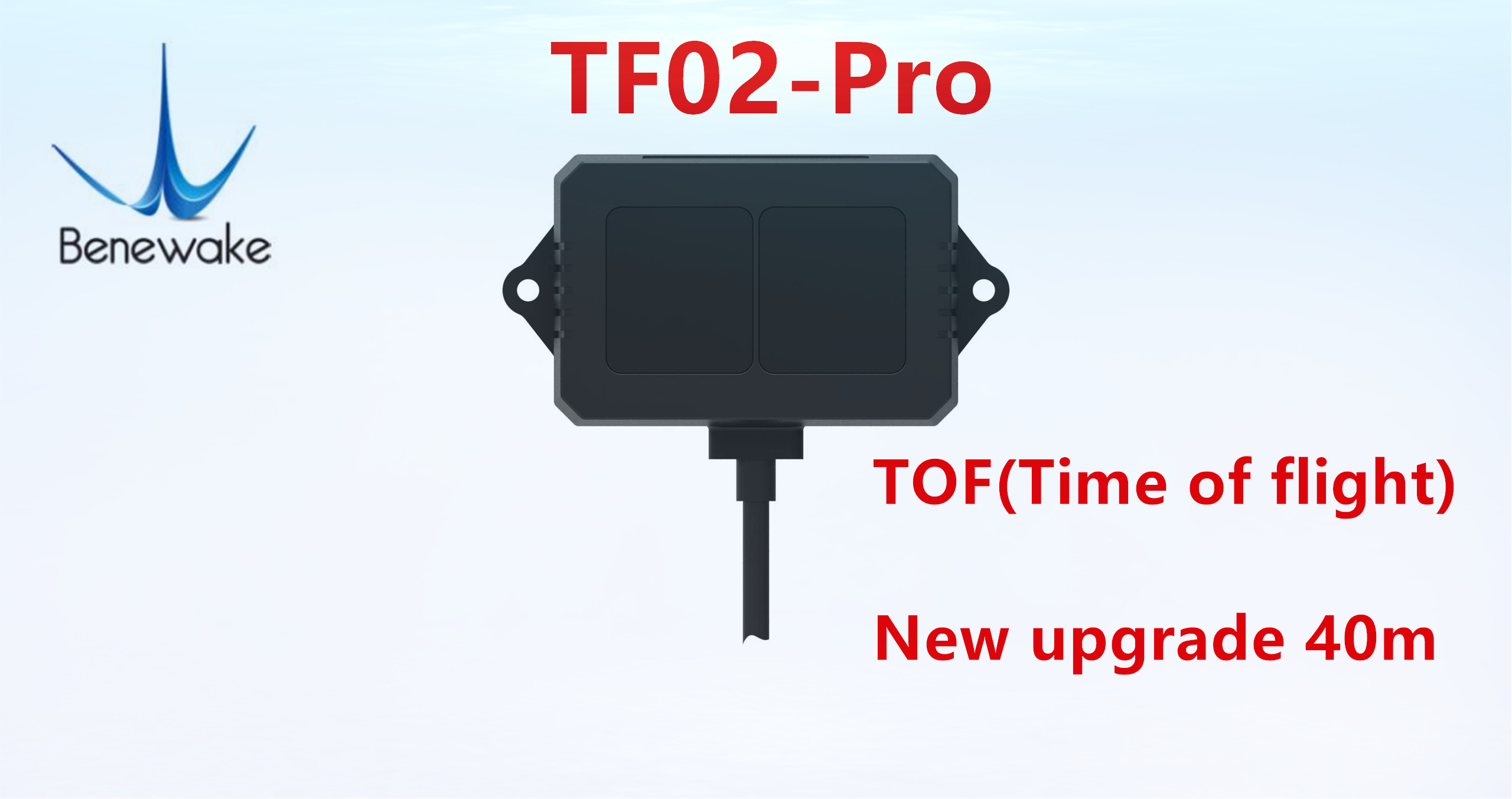 Benewake TF02-Pro TOF 40 Meters Single-point Ranging Lidar For Intelligent Transportation Material Level Detection And UAV