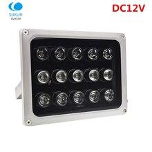 DC 12V 15 Leds IR Illuminators IR Infrared Light LED CCTV Camera Night-vision IR Fill Light for CCTV Security Camera