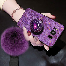 Luxury Glitter Case For Samsung Galaxy J2 Pro 2018 J4 J6 J8 A5 A6 A7 A8 J3 2016 J5 Prime J7 2017 Case Silicon Marble Holder Case(China)