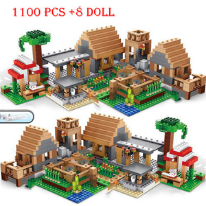 2020 For Compatible Village 30065 Haunted house Tree House The Mine Mountain Model My World Figures Building Blocks Toys