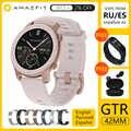 [Versão global] amazfit gtr smartwatch 42mm 5atm à prova dgágua gps glonass bluetooth monitor de freqüência cardíaca relógio inteligente