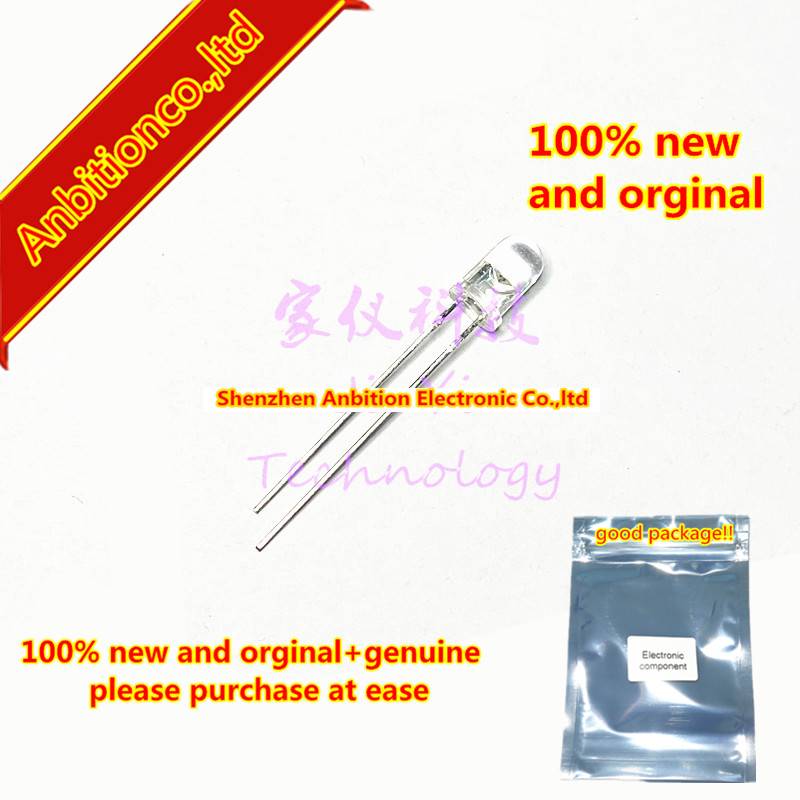 20pcs  100% New And Orginal OSE-1L7 Infrared Light Emitting Diode 5mm 940nm ± 17.5 Degrees GaAs IREDs Emission In Stock