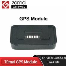 70mai Pro moduł GPS dla 70 Mai kamera na deskę rozdzielczą Pro 70Mai kamera na deskę rozdzielczą Lite wideorejestrator samochodowy z funkcją ADAS nagrywanie wideo 70mai moduł GPS s