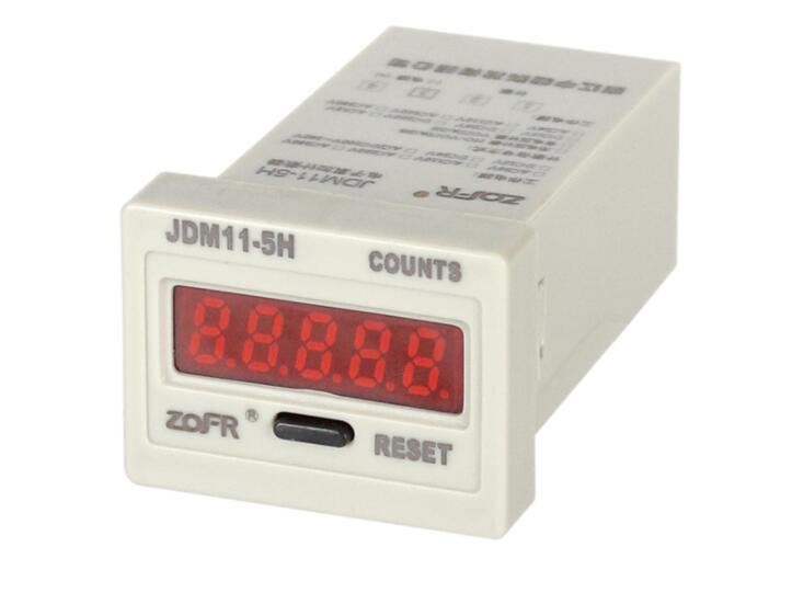 5 Digit Display Electronic Digital Counter JDM11-5H industrial counter Power failure memory