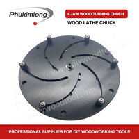 "WOODIY 10"" 250mm Wood Turning Lathe Chuck Bowl Making Clamping Protecting Chuck Woodworking Machine Tool Accessories"