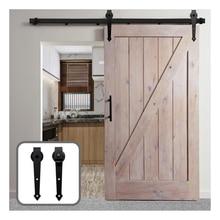 Gifsin Sliding Barn Door Hardware Kit Barn  Rollers for Closet Sliding Door Only Rollers in Arrow-Shape