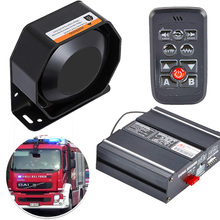 Police Sirens 200W 10 Tone Car Warning Alarm Light Control Switches Emergency Electronic PA System for Cars Fire Trucks