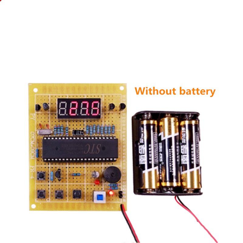 Based On 51 Single-chip Microcomputer Temperature Detection And Alarm System, Water Heater Temperature Control Design DIY