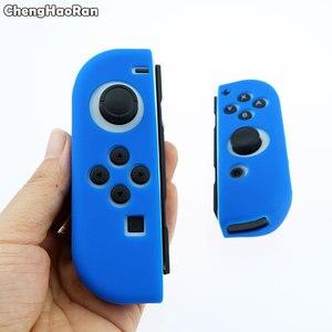 Image 4 - ChengHaoRan סיליקון גומי עור מקרה כיסוי עבור Nintendo מתג שמחה קון בקר עבור מתג NX NS Joycon גריפ מגן מקרה