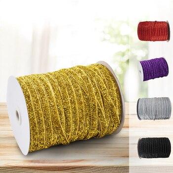 Elastic Cord String Hair Band Rope 1cm 45m Heavy Stretch for DIY Sewing Crafts MSU88