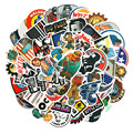 10/30/50PCS Toolbox Helmet Welding Construction Alliance Hard Hat Sticker Wholesale