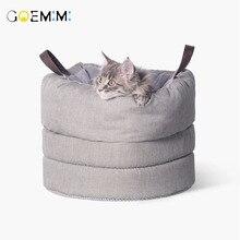 Домик для домашних животных, кошек, собак, питомник, щенок, пещера, спальная кровать, удобная зимняя теплая кровать для домашних животных, для кошек, высокое качество, cama para gato