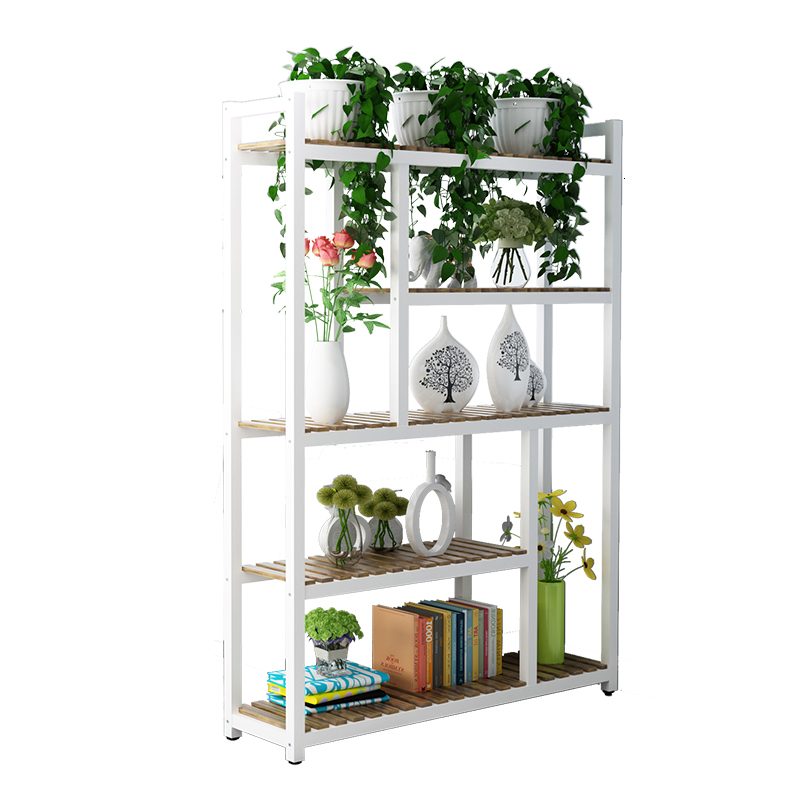 Art Of Shelf Multi-storey Indoor Florist Exhibition Frame Green Luo Flowerpot Frame A Living Room Partition Indoor Flower Airs