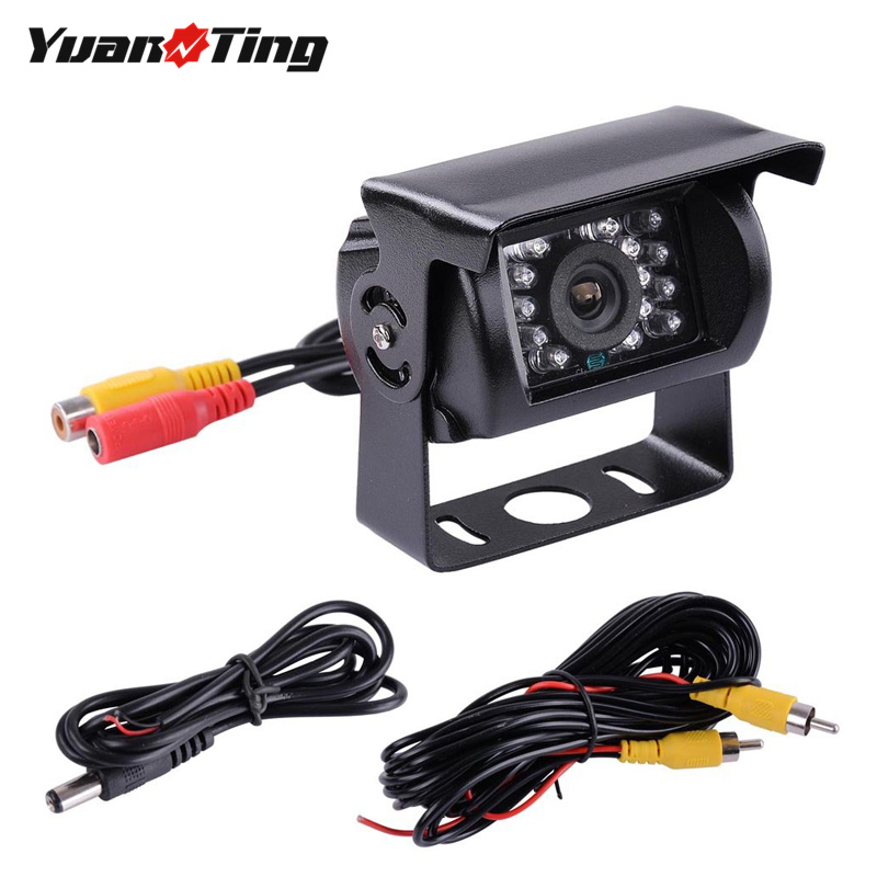 4 LED 12V Back Up Rear View Reverse Backup Camera Cam Night Vision Waterproof BG