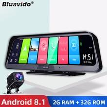 "Bluavido 10"" IPS Car DVR Camera GPS 4G Android 8.1 ADAS FHD 1080P Dash cam Dual Lens car video Recorder Night Vision Remote view"