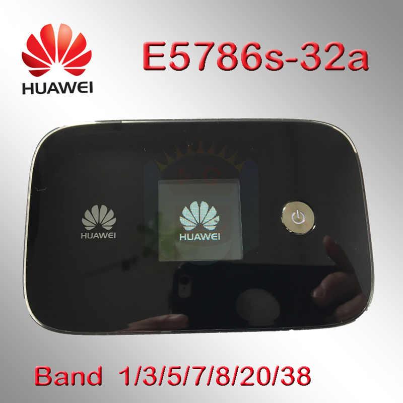 Huawei E5786s E5786s-32 Lte 4G 3G Wifi Router 4G 3G Mifi Dongle 4G Mifi Tasca wireless 4G Portatile Wifi Extender 5 Ghz E5786