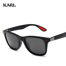 Classic Men Polarized Sunglasses Retro Karl Women Driving Mens Fishing Glasses Gafas De Sol Hombre