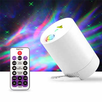 Starry Sky Projector Night Light Projection USB Star Projector Bedroom Party Laser Light 360 Degree Rotation Bedroom Night Lamp - DISCOUNT ITEM  42 OFF All Category