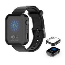 Soft TPU Watch Case For Xiaomi Mi Smart Watch Anti-Scratch Bumper Protector Case For Xiaomi Mi Shockproof Bumper Case Cover