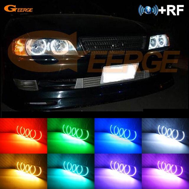 RF a distanza Bluetooth APP Multi Color Ultra luminosa RGB LED Fari Alogeni Di Profondità kit per Toyota Chaser JZX100 1996 1997 1998 1999 2000 2001