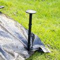 100 шт 4 3 дюйма Пластиковые садовые колья якоря пластиковые Ландшафтные Якорные шипы для сохранения садовой сетки 72XF