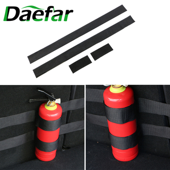 4 Pcs/set Car fire extinguisher strap for Volkswagen VW Golf 4 6 7 GTI Tiguan Passat B5 B6 B7 CC Jetta MK5 MK6 Polo Scirocco image