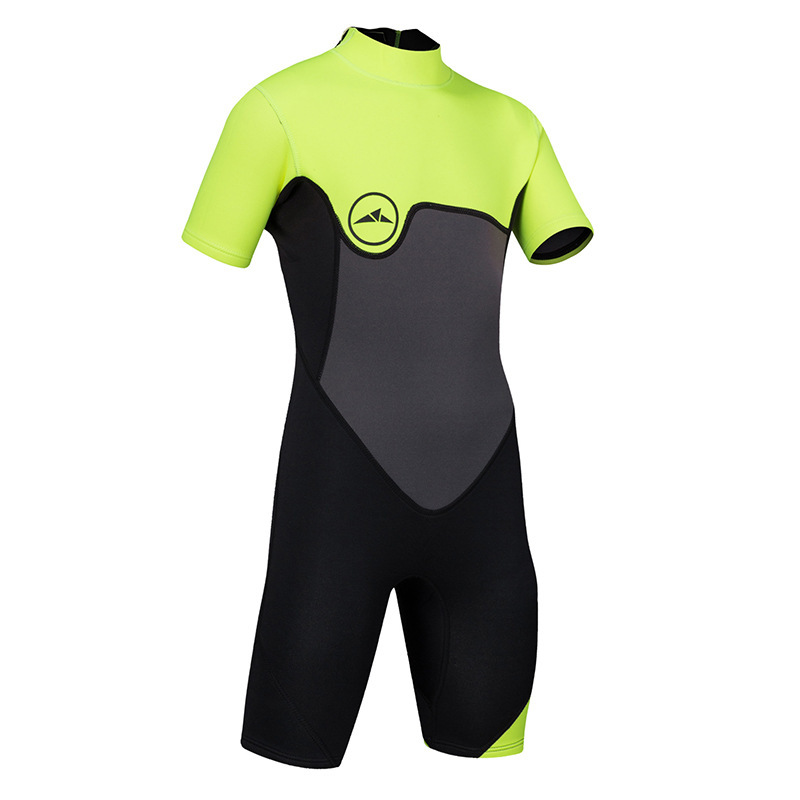 Sbart 2mm Children's One-piece Thick Swimsuit Winter Diving Suit Short Sleeved Cold Boys Swimming Suit