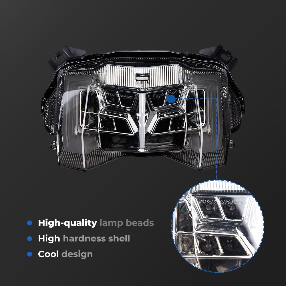 Tail Light For Yamaha MT09 2017 2018 2019 Brake Light MT 09 2018 MT-09 FZ09 FZ 09 LED Taillight Brake Rear Turn Signal Indicator