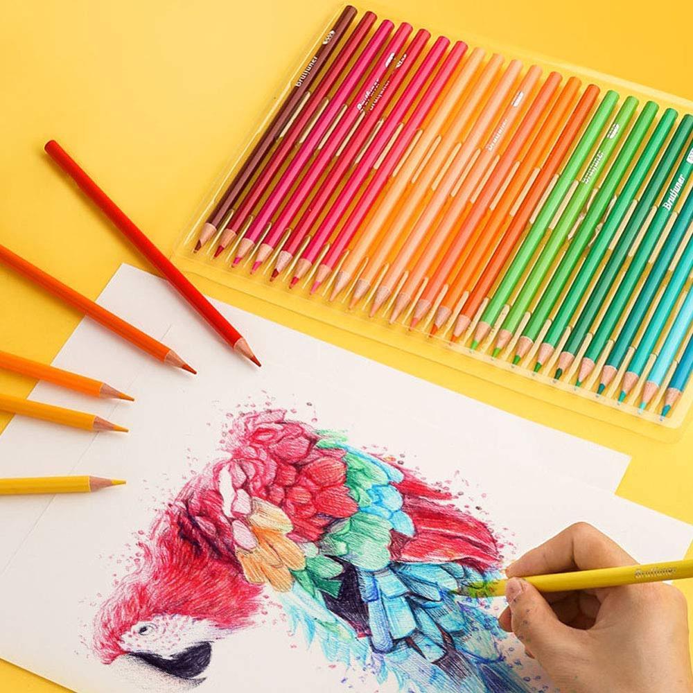Lápices de acuarela de 180 colores para dibujar, colorear y dibujar - 5