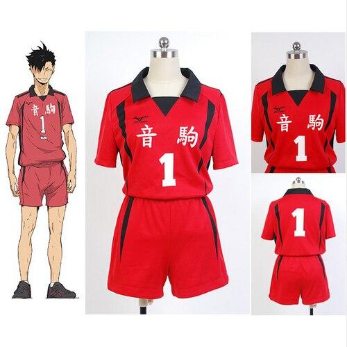 Haikyuu Cosplay Nekoma High School Uniform Kuroo Tetsurou kozumekenma Cosplay Costume Jersey Sportswear Top Shorts|Anime Costumes| - AliExpress