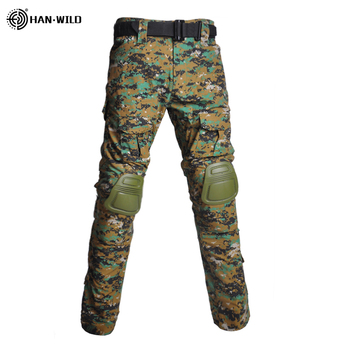 Military Uniform  Tactical Combat Shirt Us Army Clothing Tatico Tops Airsoft Multicam Camouflage Hunting FishingPants Elbow/Knee 15