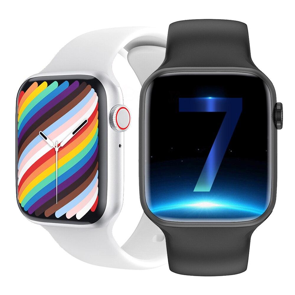 W37 Smart Watch Series 7 Bluetooth Call 1.75 Inch 320*385 IP68 Waterproof Customize Dials Face - ANKUX Tech Co., Ltd