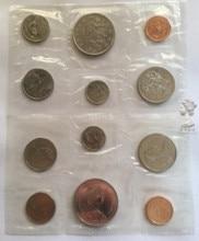 Canada 1987 1 Cent-1 Dollar Full Set 6 Pieces Unc Real Original Coins Collection original 6 1761617 1