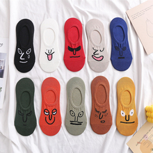 10 Pair Teenagers Socks Student Socks New Style Ship Socks Spring And Summer Short Socks Sneaker Cartoon Girl Girls Boat Sock sell well new spring and summer children s cartoon short socks children spring and summer cartoon smiley invisible boat socks