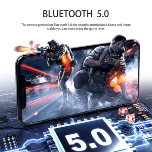 Image 5 - D019 V5.0 Bluetooth Earphone HD Stereo Wireless Headphones Sport Bass Headset With Led Power Display Charger Case For All Phone
