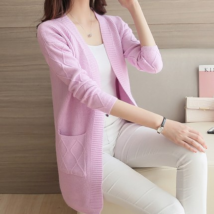 Spring Women Fashion Cardigan Sweaters