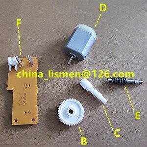 Image 1 - 48 치아 도어 사이드 미러 접이식 모터 폴드 미러 모터 플라스틱 기어 for mazda 5 6 8 자동차 백미러