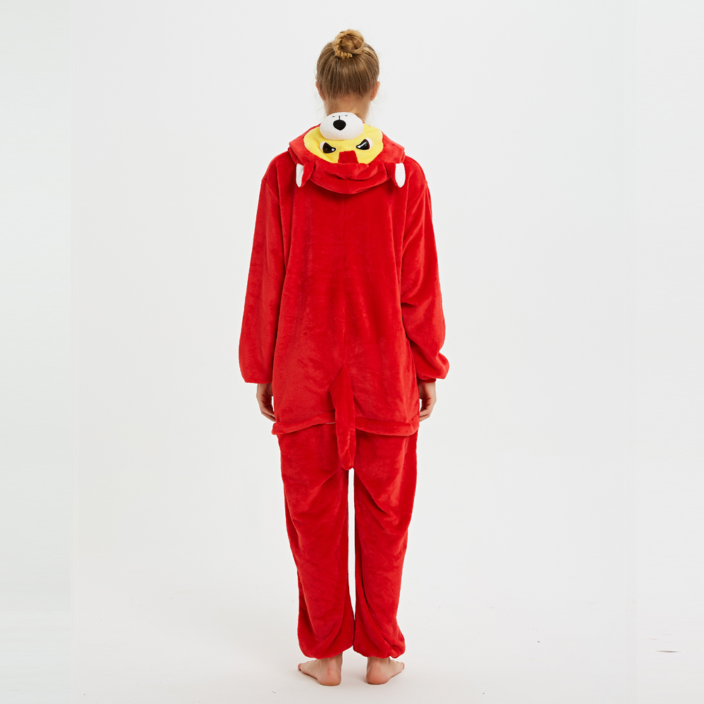 Unisex Adult Animal Pajamas Onesies Cosplay Large Cartoon Adult Onepiece Sleepwear Pajamas Onesies Halloween Christmas Costume