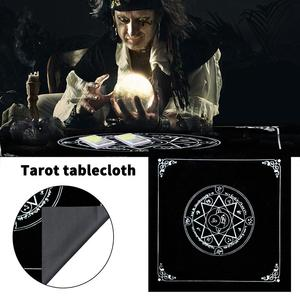 Tarot Card Table Cloth High-grade Flannel Lightweight Astrology Divination Table Mat Tapestry Tablecloth for Tarot Card Lovers