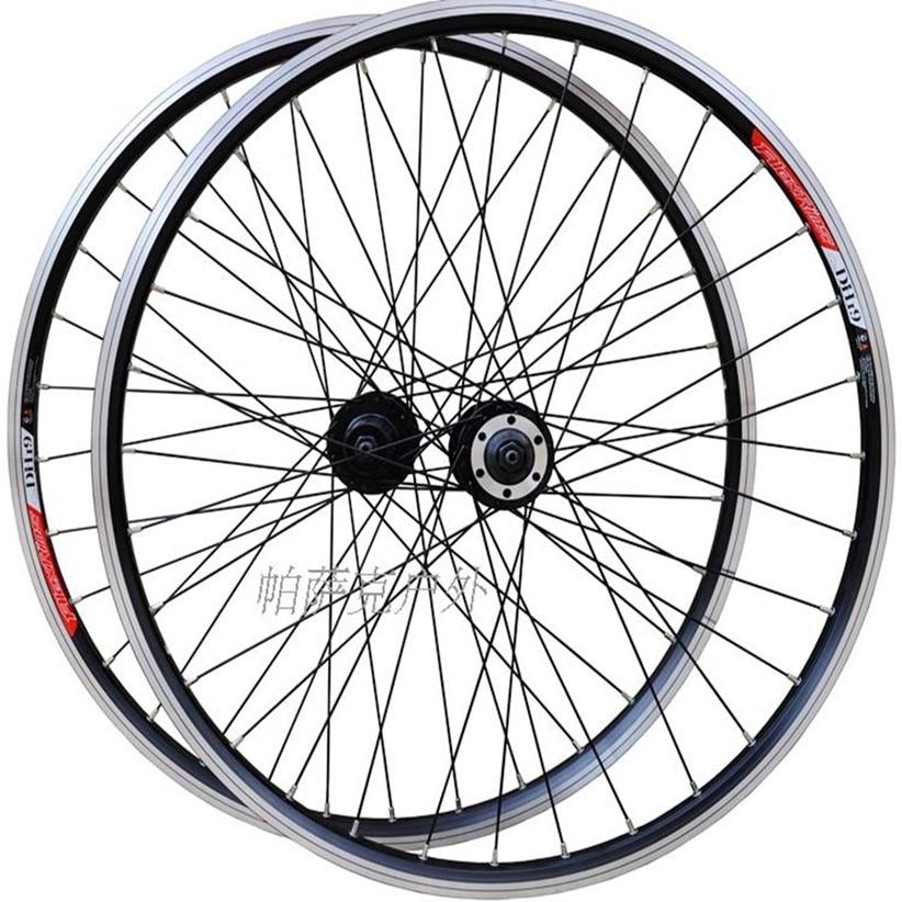 26 Inch 8/9/10 Speed MTB Mountain Bike Bicycle Sealed Bearing Smooth Wheels Wheelset Rim Double Rims