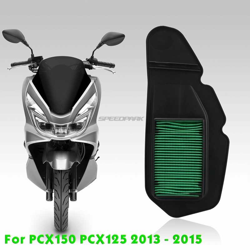 Speedpark Hijau Motor Udara Asupan Filter Udara Elemen Bersih untuk Honda PCX150 PCX125 PCX 125 150X3 2013 2014 2015 13 14 15