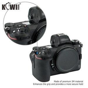 Image 5 - Cubierta de Cuerpo de Cámara antiarañazos, etiqueta de protección 3M para Nikon Z7 Z6, soporte de agarre antideslizante, Protector de piel, sombra, negro