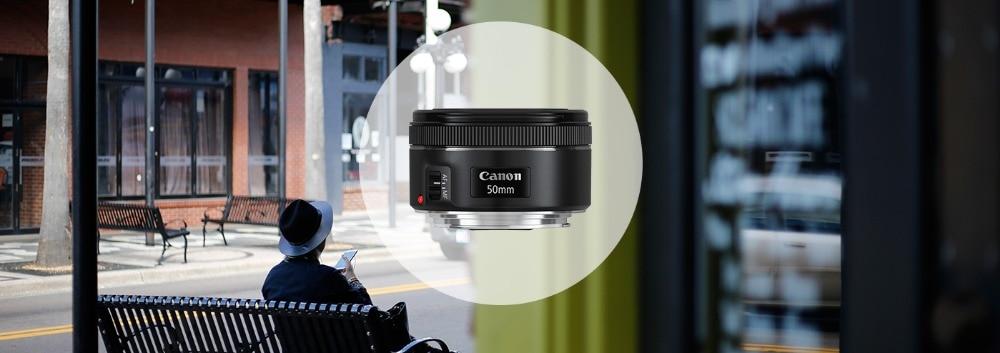 Canon 50 1.8 EF 50mm f/1.8 STM Standard Lens Dslr lenses for canon 650D 700D 750D 800D 60D 70D 80D 7D 5DII 5Ds 5DIII