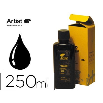 CHINESE INK ARTIST BLACK FLASK 250 ML